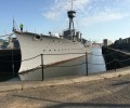HMS Caroline is now open to the public!